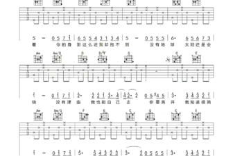 彩虹吉他谱 周杰伦彩虹吉他谱 附视频示范