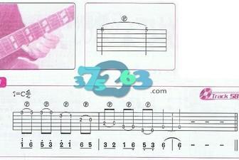 滑音技巧吉他弹奏方法