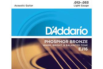 达达里奥民谣吉他弦EJ16 12-53 EJ15
