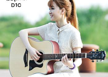 卡马kepma初学吉他 D1Ca1c 41寸民谣吉他