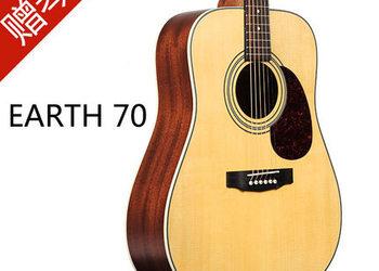 现货Cort Earth 70 70E 单板民谣吉他 电箱吉他 考特吉它 200 300