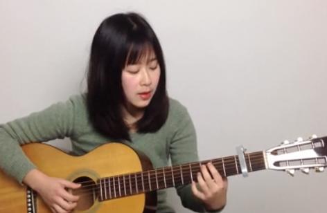 呆萌妹子Nancy吉他教学 第一期